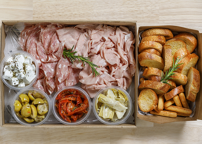 antipasto meat small with extras