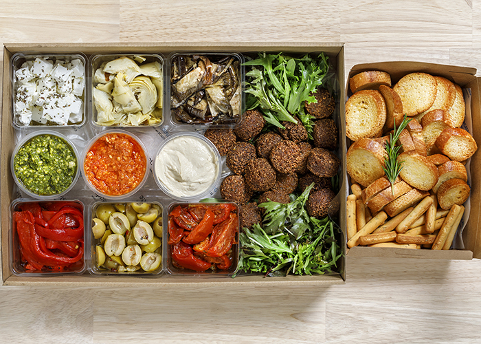 antipasto veg large with extras