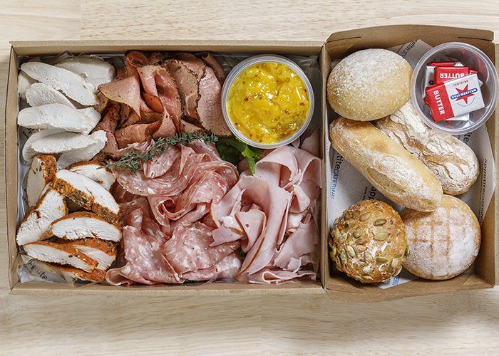 cold cuts small with extras